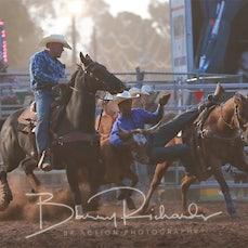 Kyabram Rodeo 2019 - Steer Wrestling - Sect 1