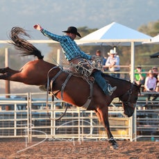 Merrijig Rodeo 2019 - Open Saddle Bronc - Sect 1