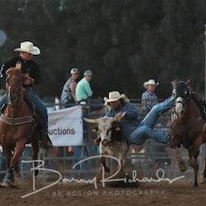 Merrijig Rodeo 2019 - Steer Wrestling - Sect 1
