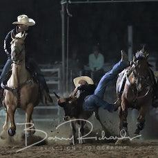 Merrijig Rodeo 2019 - Steer Wrestling - Sect 2
