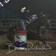 Merrijig Rodeo 2019 - Open Barrel Race - Sect 1