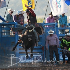Merrijig Rodeo 2019 - 2nd Div Bull Ride - Sect 1