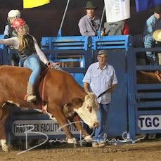 Merrijig Rodeo 2019 - Local Steer Ride - Sect 1