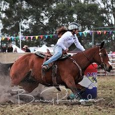 Lang Lang Rodeo 2019 - Open Barrel Race - Sect 1