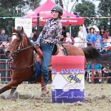 Lang Lang Rodeo 2019 - Junior Barrel Race - Sect 1