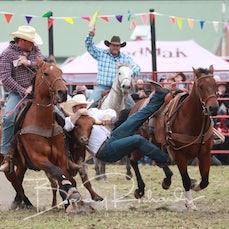 Lang Lang Rodeo 2019 - Steer Wrestling - Sect 1