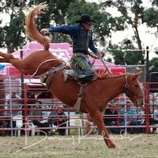 Lang Lang Rodeo 2019 - Open Saddle Bronc - Sect 2