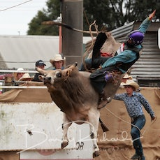 Lang Lang Rodeo 2019 - 2nd Div Bull Ride - Sect 1