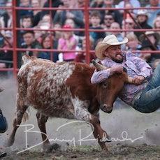 Lang Lang Rodeo 2019 - Steer Wrestling - Sect 2