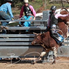 Buchan Rodeo 2019 - 2nd Div Bull Ride - Sect 1