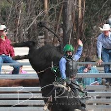 Buchan Rodeo 2019 - Open Bull Ride - Sect 1