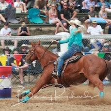 Buchan Rodeo 2019 - Open Barrel Race - Sect 1