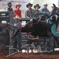 Nebo Rodeo 2019 - 2nd Div Bull Ride - Slack 2