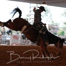 Nebo Rodeo 2019 - AP Open Saddle Bronc - Sect 1