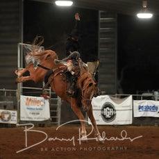 Nebo Rodeo 2019 - Open Saddle Bronc - Sect 2