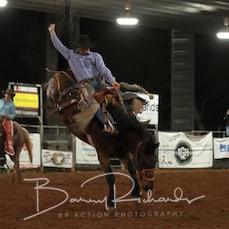 Nebo Rodeo 2019 - Open Saddle Bronc - Sect 3