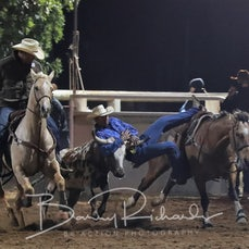 Moranbah Rodeo 2019 - Steer Wrestling - Sect 2
