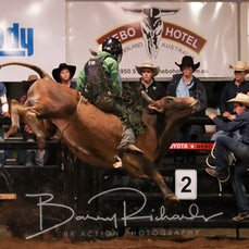Nebo Rodeo 2019 - Open Bull Ride - Sect 2