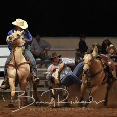 Nebo Rodeo 2019 - Steer Wrestling - Sect 3