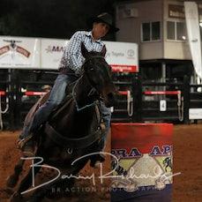 Nebo Rodeo 2019 - Open Barrel Race - Sect 2