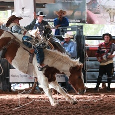 Nebo Rodeo 2019 - 2nd Div Bareback Bronc - Slack 1