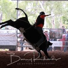 Nebo Rodeo 2019 - Junior Steer Ride - Slack 2