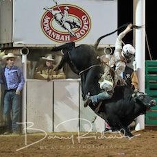 Moranbah Rodeo 2019 - Open Bull Ride - Sect 2