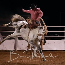 Moranbah Rodeo 2019 - Open Saddle Bronc - Sect 2
