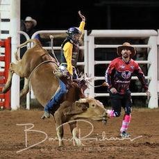 Moranbah Rodeo 2019 - Junior Bull Ride - Sect 1