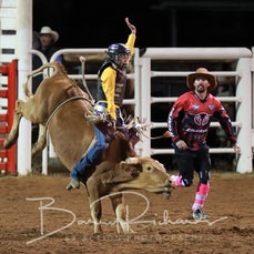 Moranbah Rodeo 2019 - Junior Bull Ride - Sect 1