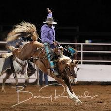 Moranbah Rodeo 2019 - Open Saddle Bronc - Sect 1