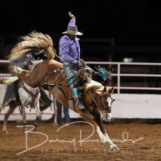 Moranbah Rodeo 2019 - Open Saddle Bronc - Sect 1