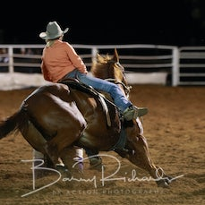 Moranbah Rodeo 2019 - Open Barrel Race - Sect 1