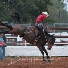 Moranbah Rodeo 2019 - 2nd Div Saddle Bronc - Slack 1