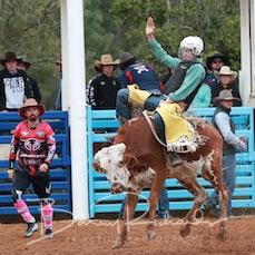 Moranbah Rodeo 2019 - Junior Steer Ride - Slack 1
