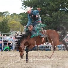 Ballarat Rodeo 2019 - 2nd Div Saddle Bronc - Sect 1