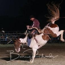 Ballarat Rodeo 2019 - Open Saddle Bronc - Sect 1