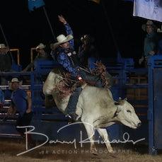 Ballarat Rodeo 2019 - Open Bull Ride - Sect 1
