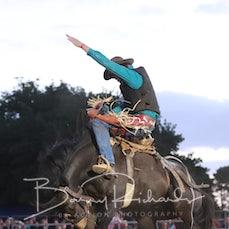 Ballarat Rodeo 2019 - 2nd Div Saddle Bronc - Sect 2
