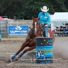 Ballarat Rodeo 2019 - Open Barrel Race - Sect 1