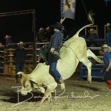 Ballarat Rodeo 2019 - 2nd Div Bull Ride - Sect 2