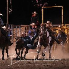 Ballarat Rodeo 2019 - Steer Wrestling - Sect 2