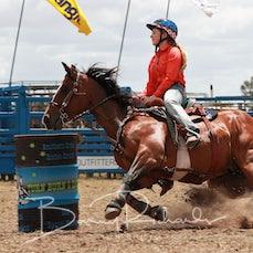 Ballarat Junior Rodeo 2019 - Junior Barrel Race - Sect 1