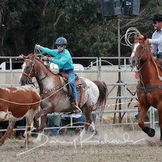 Ballarat Rodeo 2019 - Junior Team Roping - Sect 2