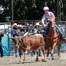 Ballarat Rodeo 2019 - Junior Breakaway Roping - Sect 1