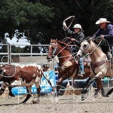 Ballarat Rodeo 2019 - Junior Team Roping - Sect 1