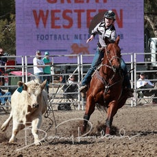 Great Western Rodeo 2019 - Junior Breakaway Roping - Sect 1