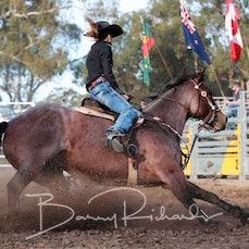 Great Western Rodeo 2019 - Open Barrel Race - Sect 1