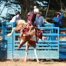 Neerim Rodeo 2019 - 2nd Div Saddle Bronc - Sect 1