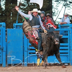 Neerim Rodeo 2019 - 2nd Div Bull Ride - Sect 2